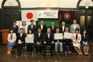 観光政策の推進を訴え、自民党青年局政策プレゼンコンテスト神奈川県大会では準優勝。今後もさらに磨きをかけていきます!