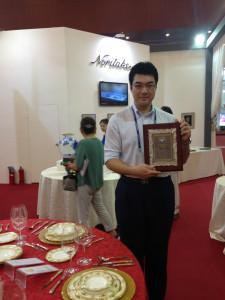 日本企業の海外進出や観光客誘致にも尽力。中国天津市で行われた展示会の運営も手掛けました。